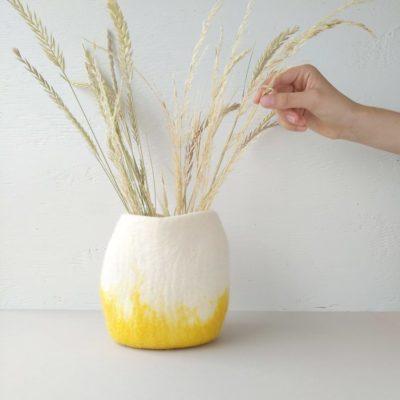 Vase Amarelo